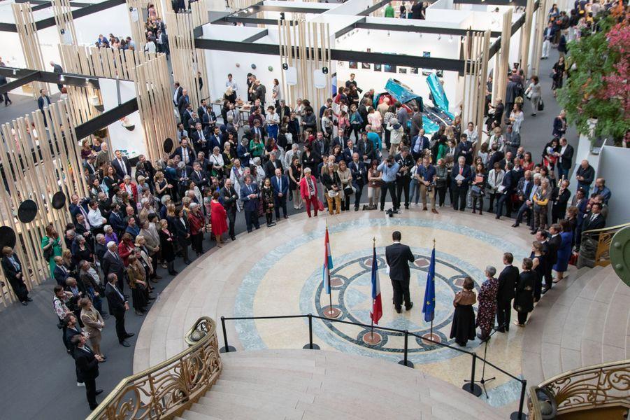 """Inauguration de la biennale """"Révélations"""" à Paris, le 22 mai 2019"""