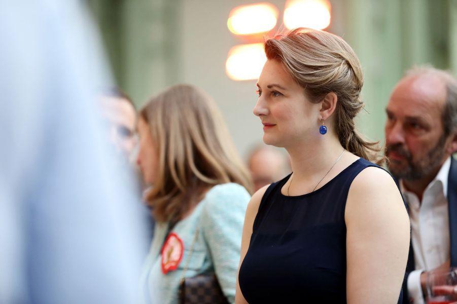 La princesse Stéphanie de Luxembourg à Paris, le 22 mai 2019