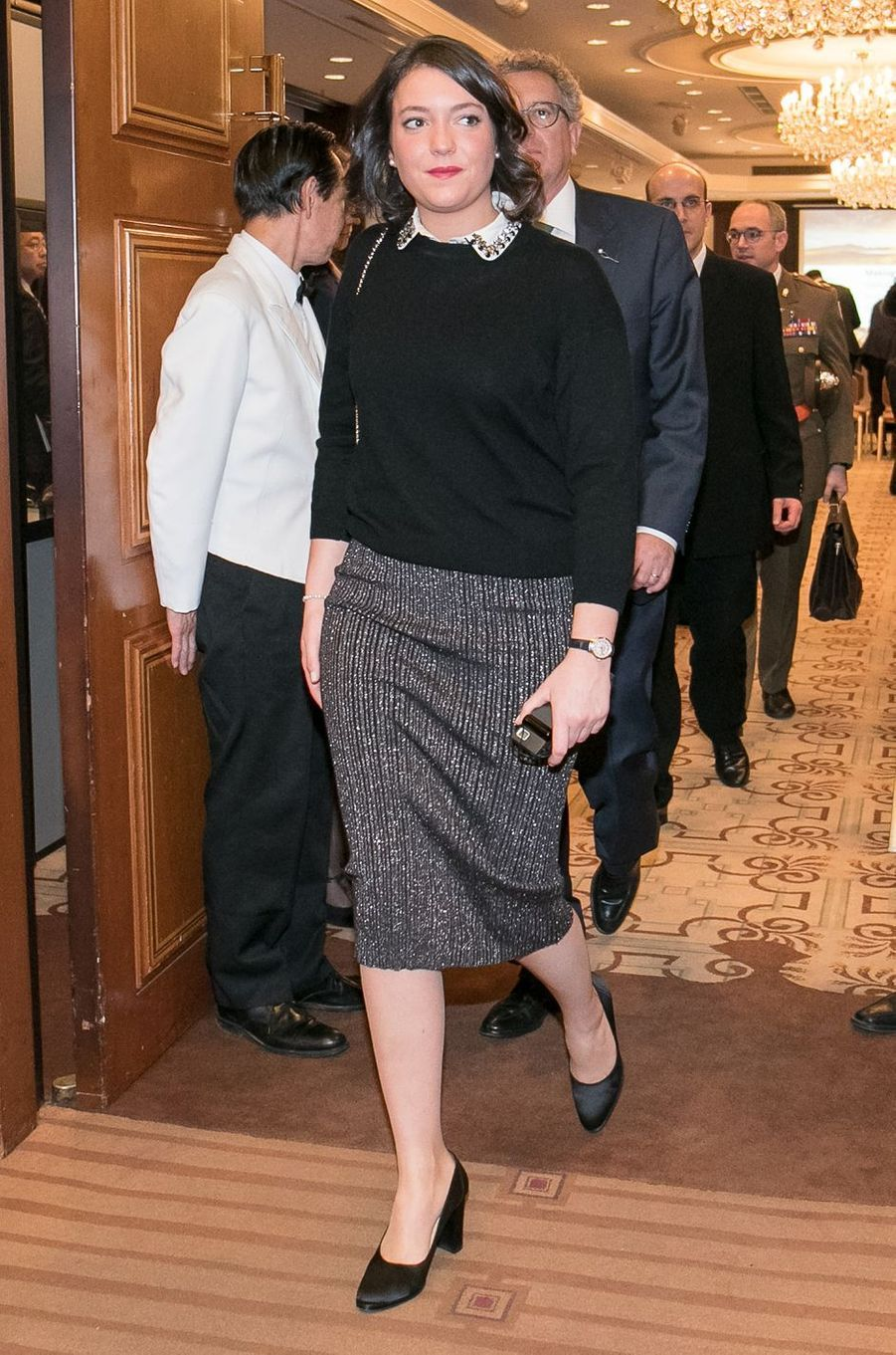 La princesse Alexandra de Luxembourg à Tokyo, le 29 novembre 2017