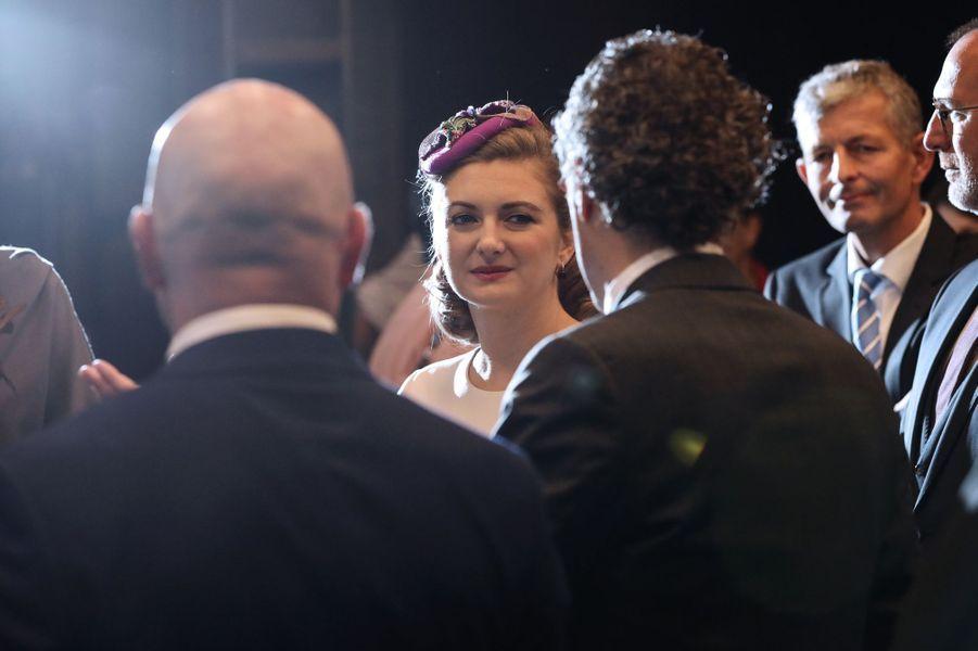 La princesse Stéphanie de Luxembourg à Esch-Belval, le 16 octobre 2019