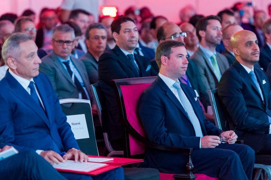 Le prince Guillaume de Luxembourg à Casablanca, le 24 septembre 2019
