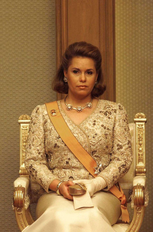 La grande-duchesse Maria Teresa de Luxembourg, le 7 octobre 2000