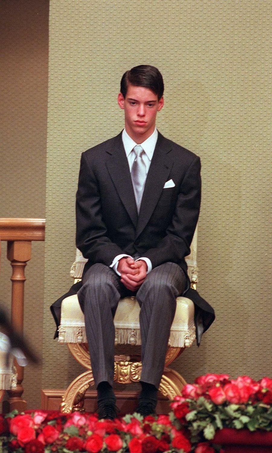 Le prince Félix de Luxembourg, le 7 octobre 2000