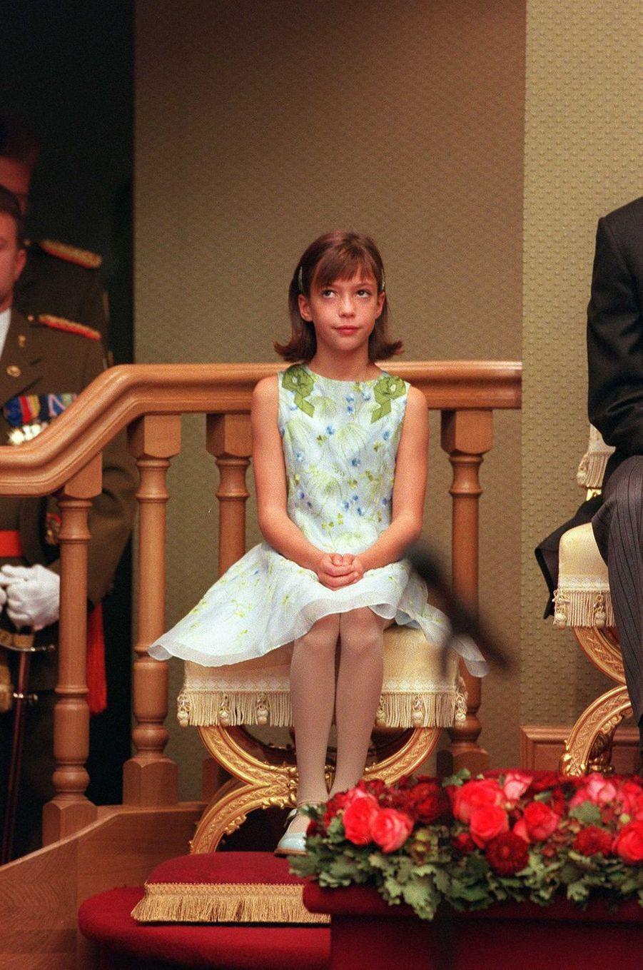 La princesse Alexandra de Luxembourg, le 7 octobre 2000