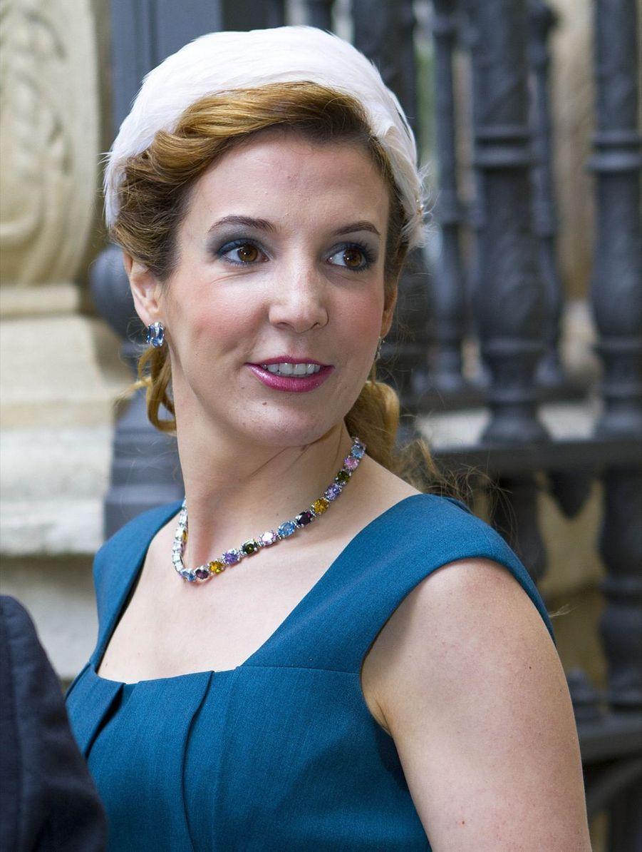 La princesse Tessy du Luxembourg à la Fête Nationale en 2013