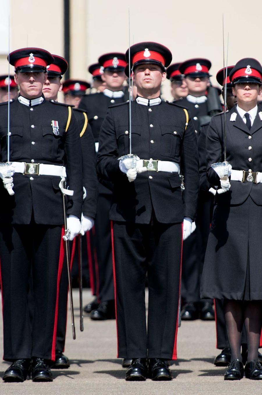 Le prince Sébastien de Luxembourg à Sandhurst, le 11 août 2017