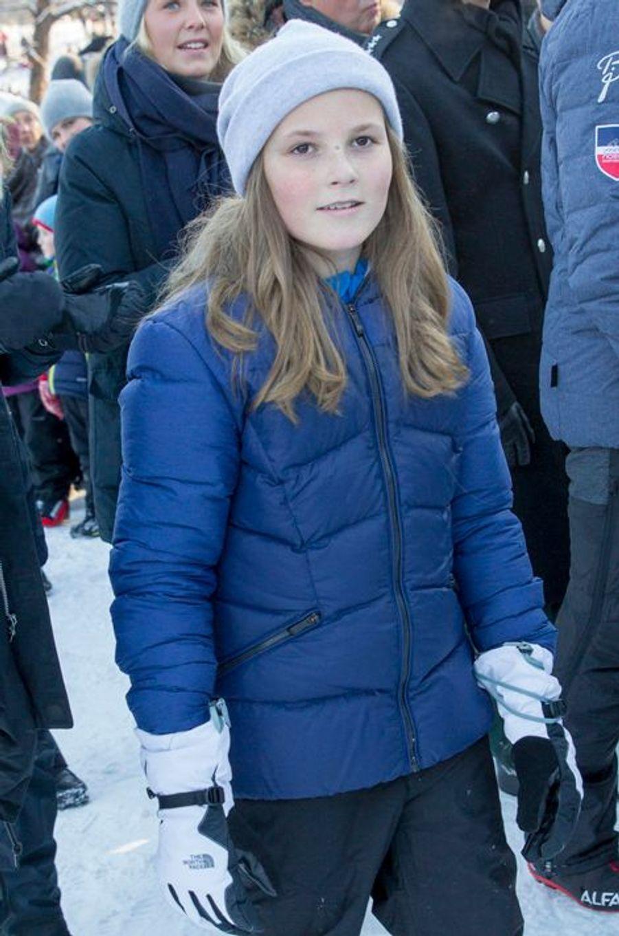 La princesse Ingrid Alexandra de Norvège à Oslo, le 17 janvier 2016
