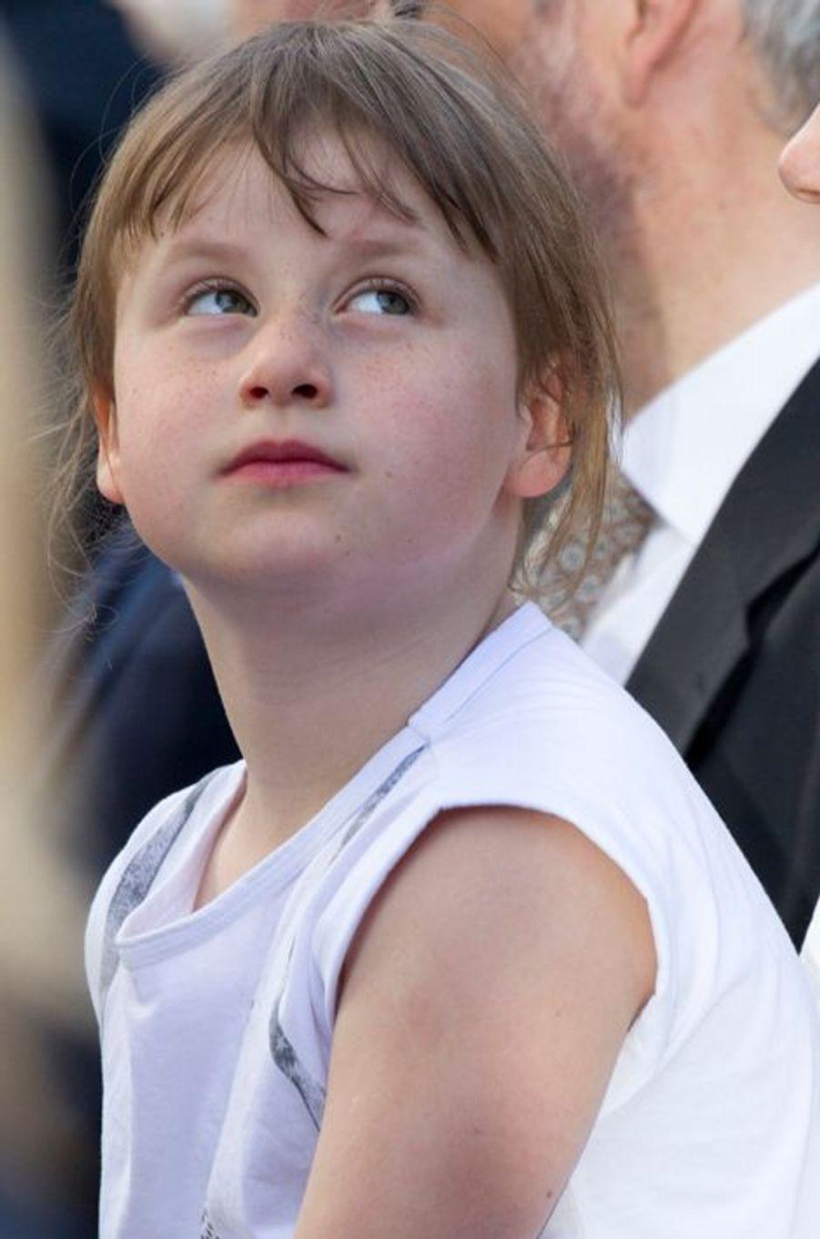 Emma-Tallulah, 3e fille de la princesse Martha-Louise de Norvège, à Oslo le 7 juin 2015