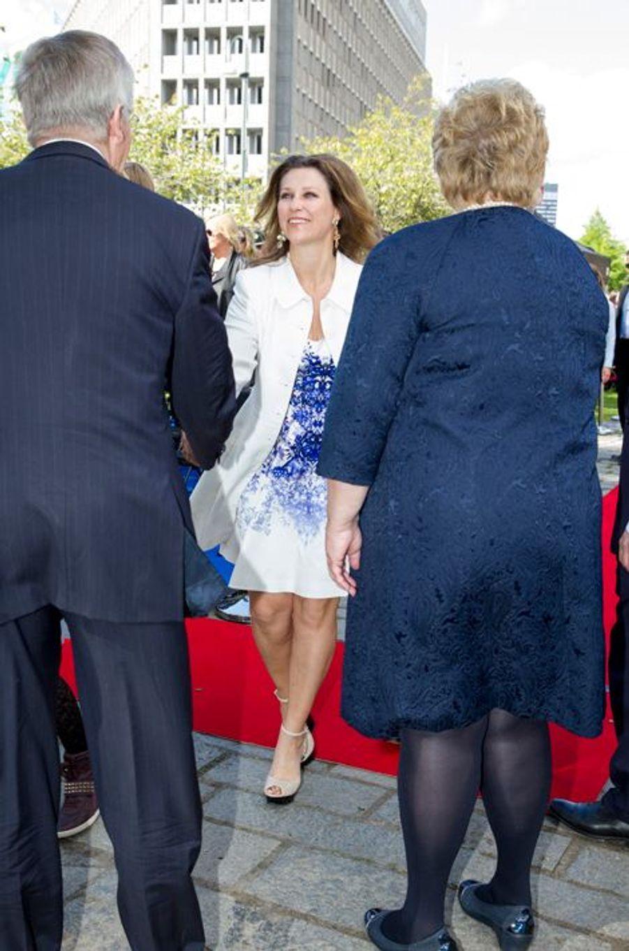 La princesse Martha-Louise de Norvège, à Oslo le 7 juin 2015