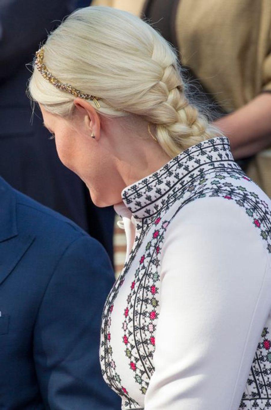 La princesse Mette-Marit de Norvège à Oslo, le 7 juin 2015