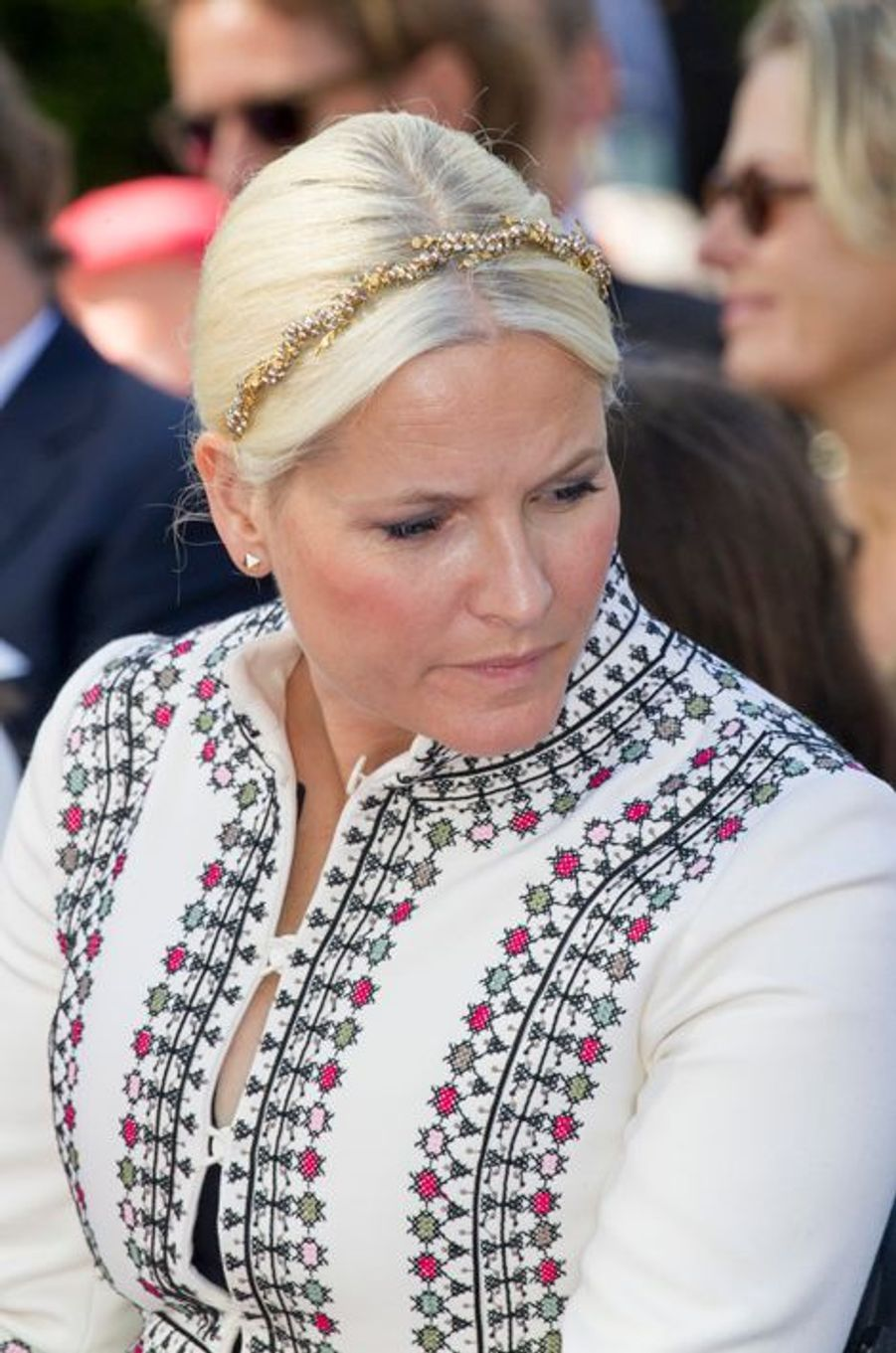 La princesse Mette-Marit de Norvège, à Oslo le 7 juin 2015