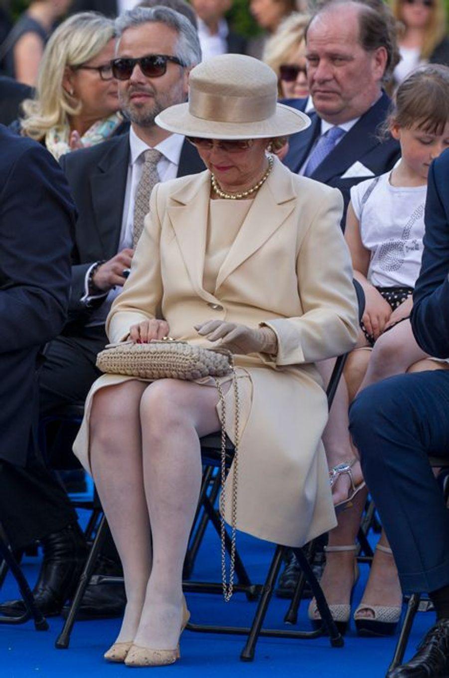 La reine Sonja de Norvège à Oslo, le 7 juin 2015