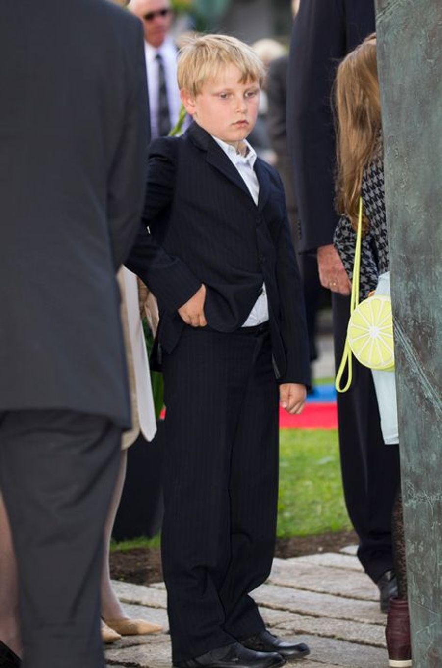Le prince Sverre-Magnus à Oslo le 7 juin 2015