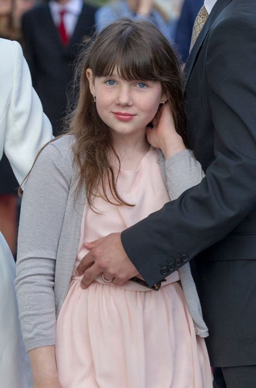 Maud-Angelica, fille aînée de la princesse Martha-Louise de Norvège, à Oslo le 7 juin 2015