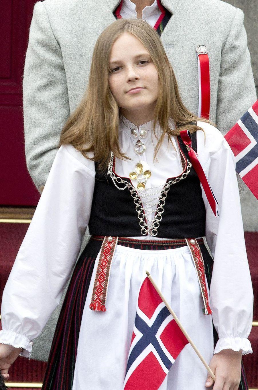 La princesse Ingrid Alexandra de Norvège à Oslo, le 17 mai 2017