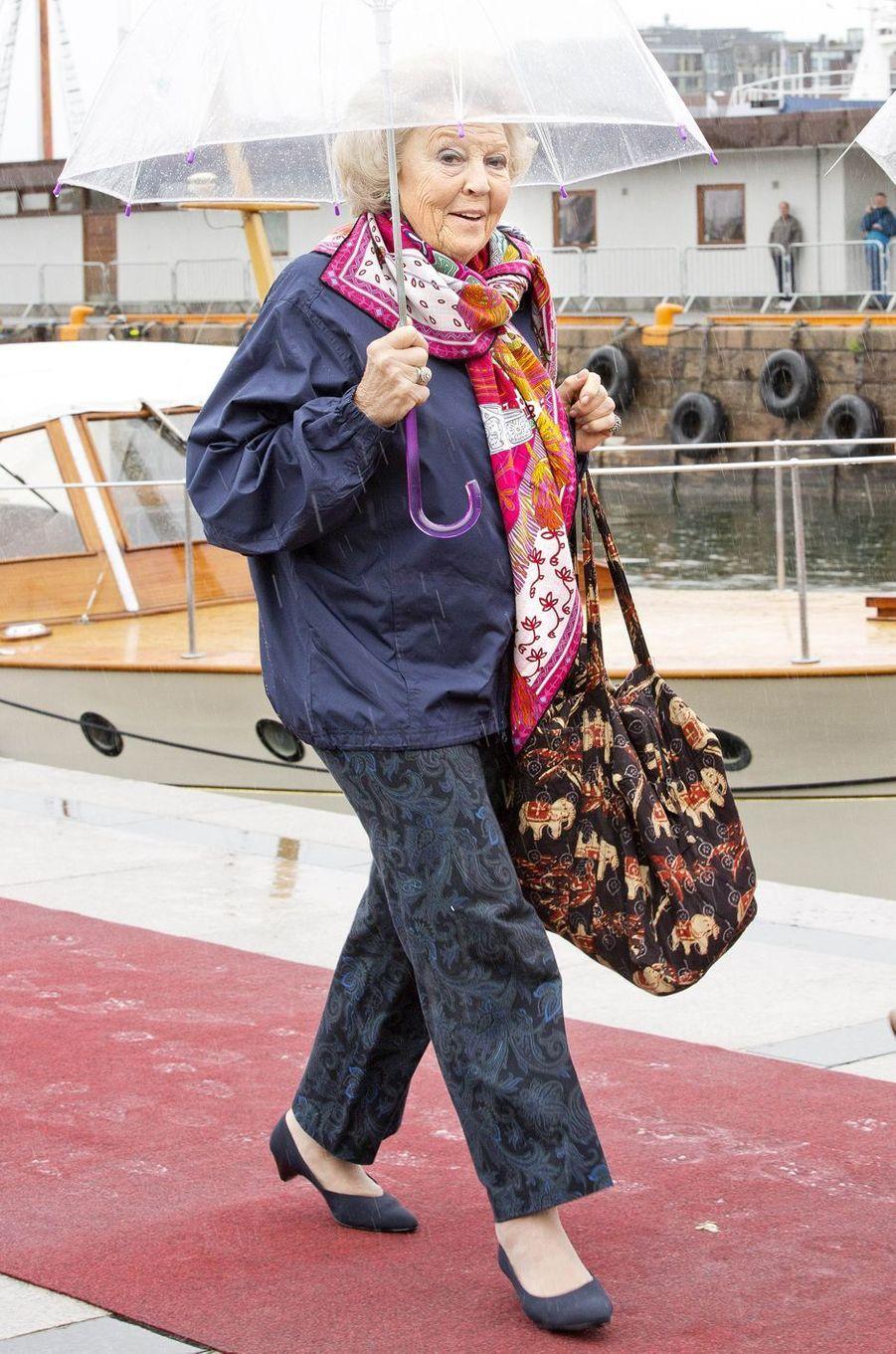 La princesse Beatrix des Pays-Bas à Oslo, le 10 mai 2017