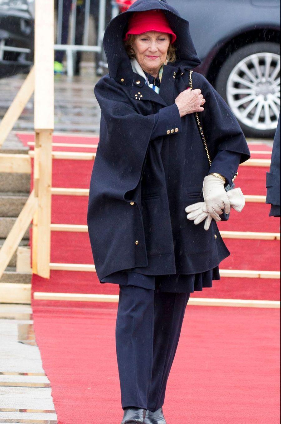 La reine Sonja de Norvège à Oslo, le 10 mai 2017