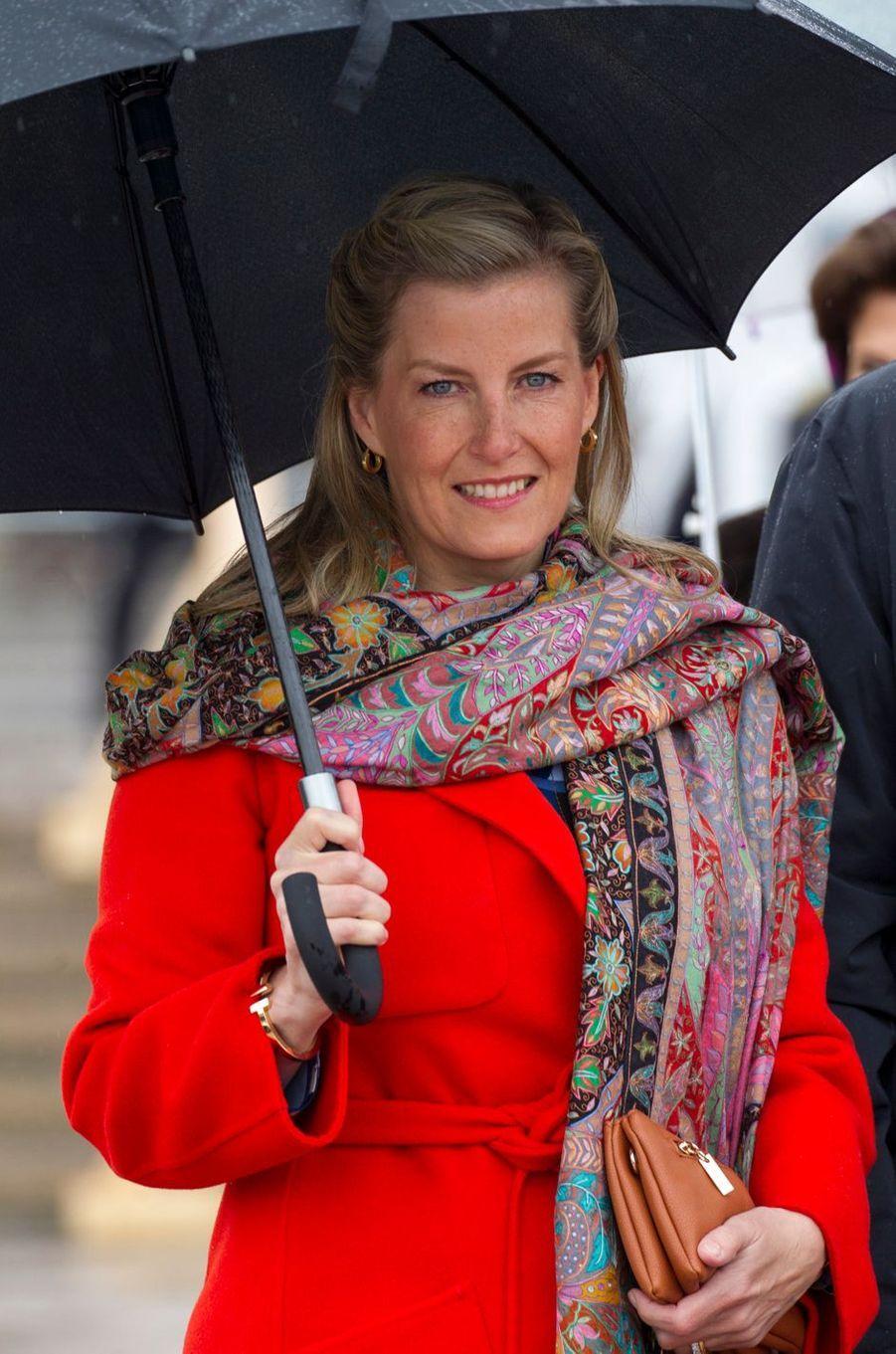 La comtesse Sophie de Wessex à Oslo, le 10 mai 2017