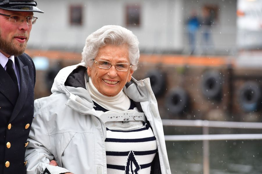La princesse Astrid de Norvège à Oslo, le 10 mai 2017