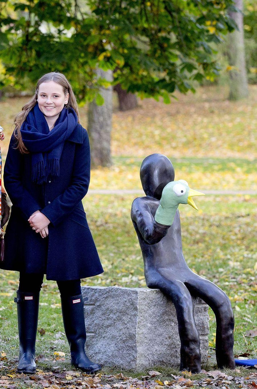 La princesse Ingrid Alexandra de Norvège à Oslo, le 19 octobre 2017