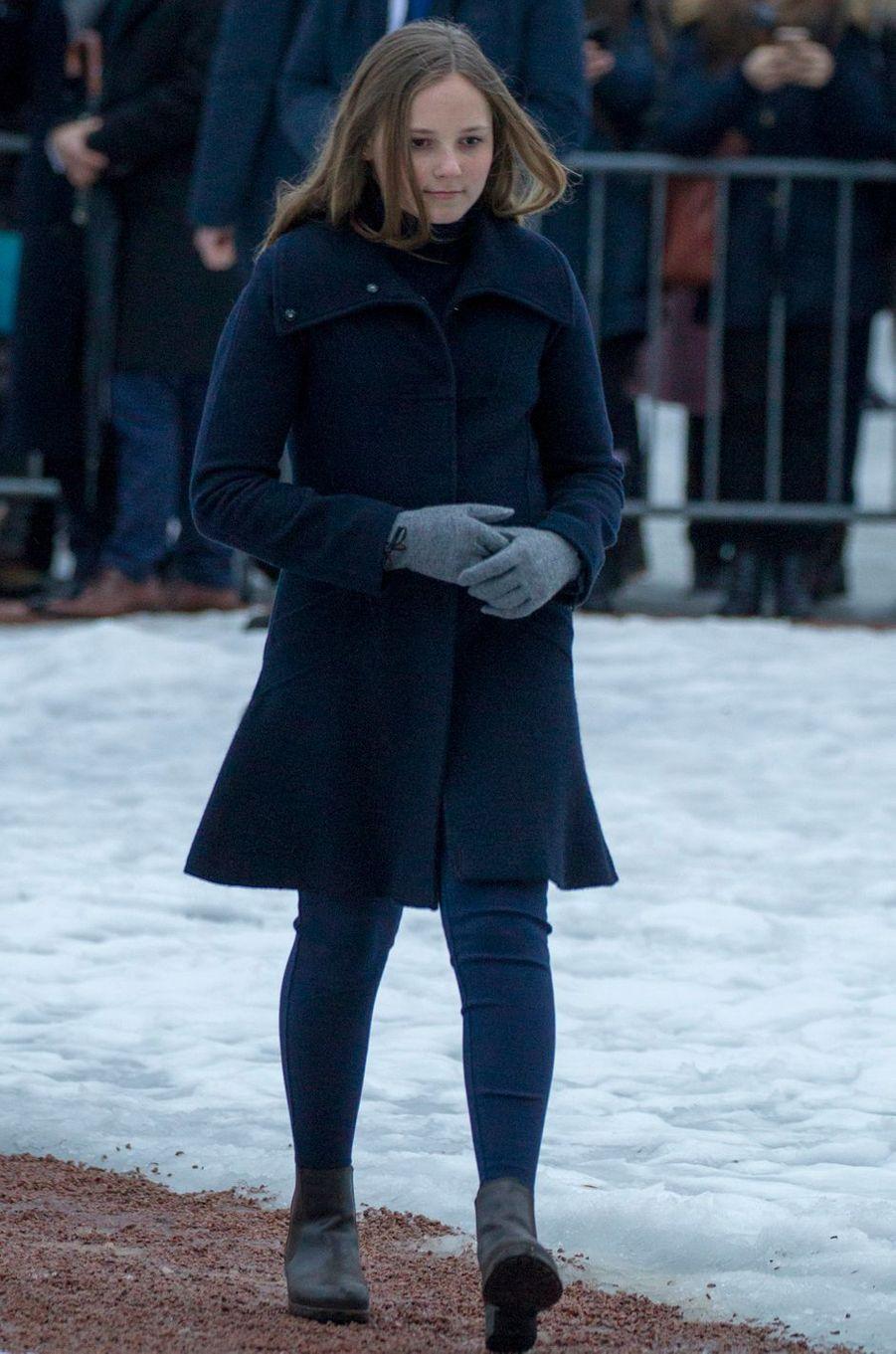 La princesse Ingrid Alexandra de Norvège à Oslo, le 1er février 2018