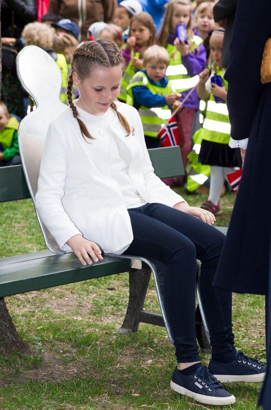 La princesse Ingrid Alexandra de Norvège à Oslo, le 19 mai 2016
