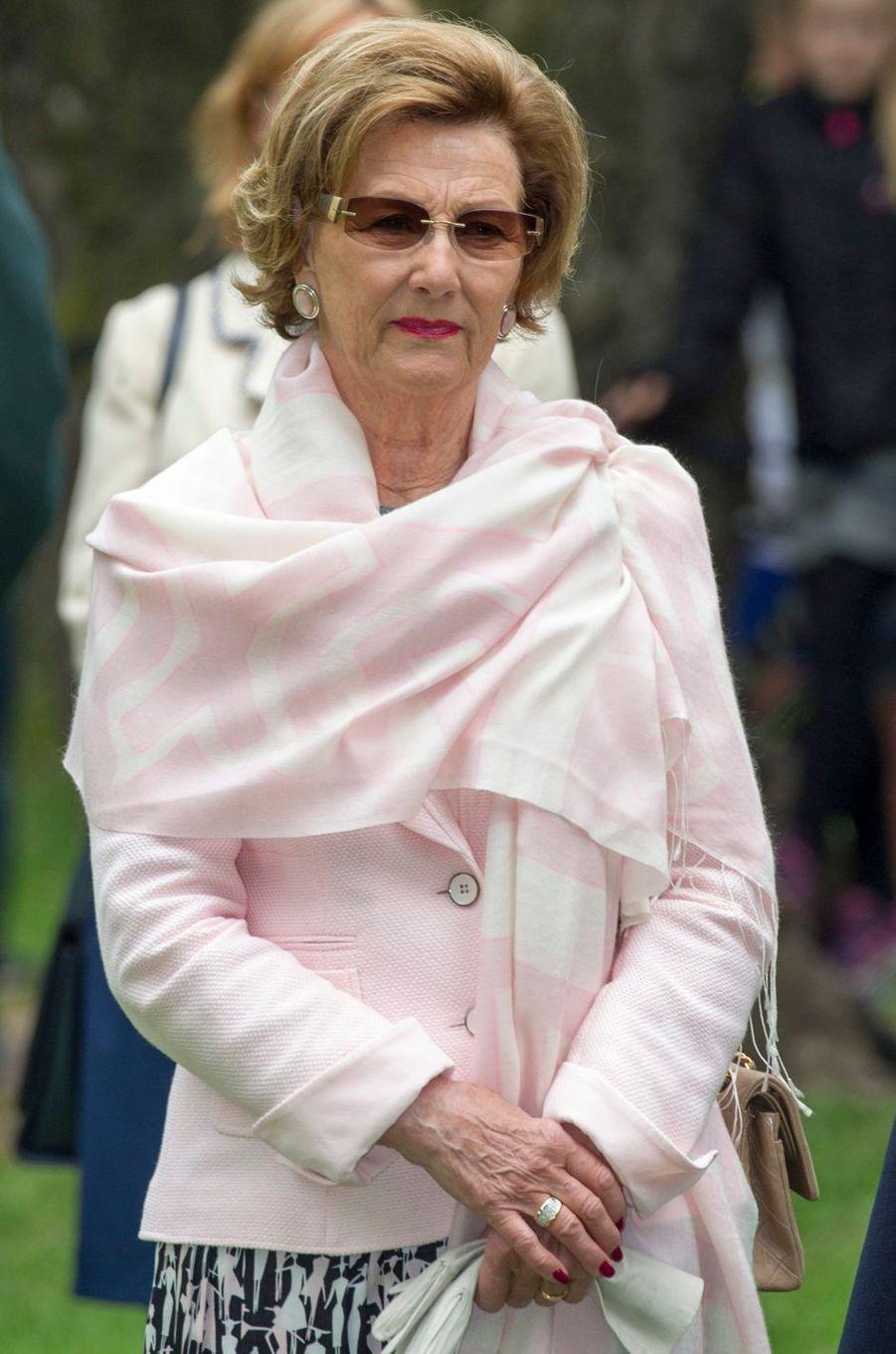 La reine Sonja de Norvège à Oslo, le 19 mai 2016