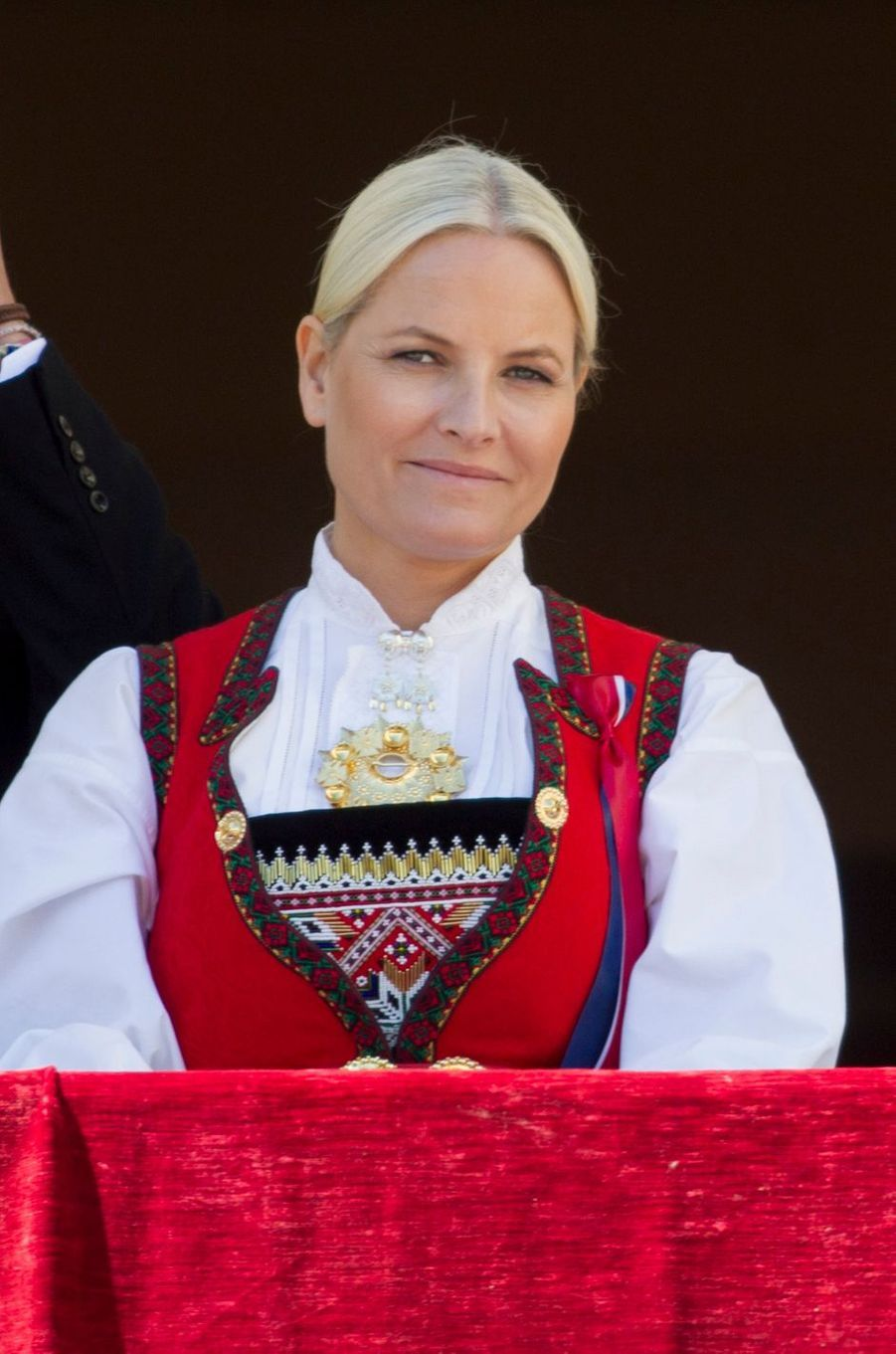 La princesse Mette-Marit de Norvège à Oslo, le 17 mai 2016