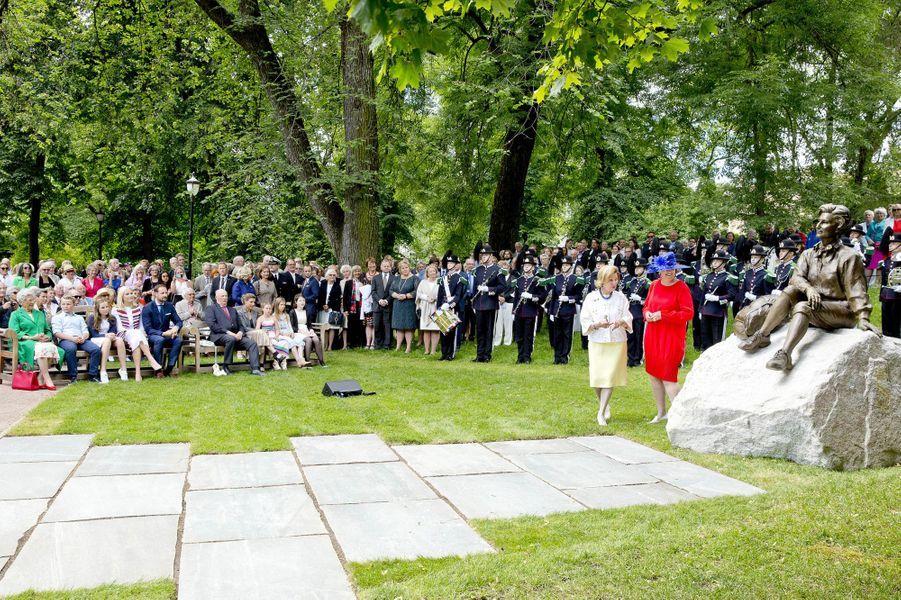 La famille royale norvégienne à Oslo, le 4 juillet 2017