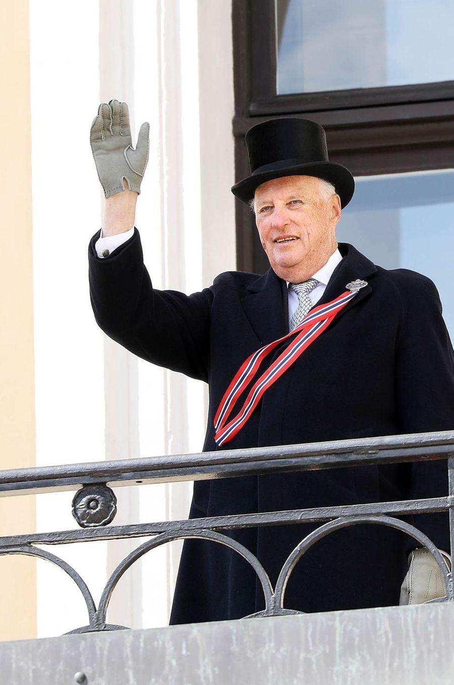 Le roi harald V de Norvège à Oslo, le 17 mai 2018