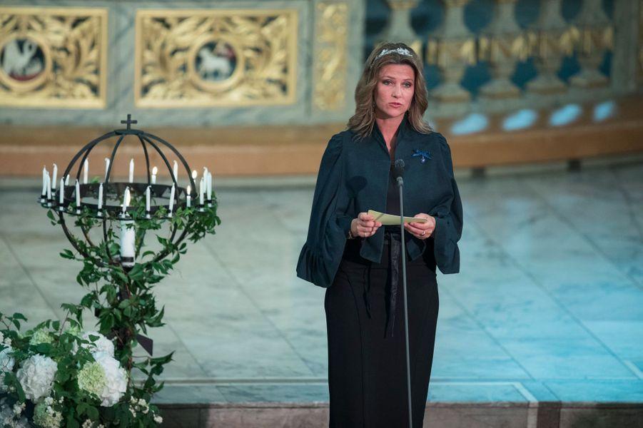 La princesse Märtha Louise de Norvège à Oslo, le 29 août 2018