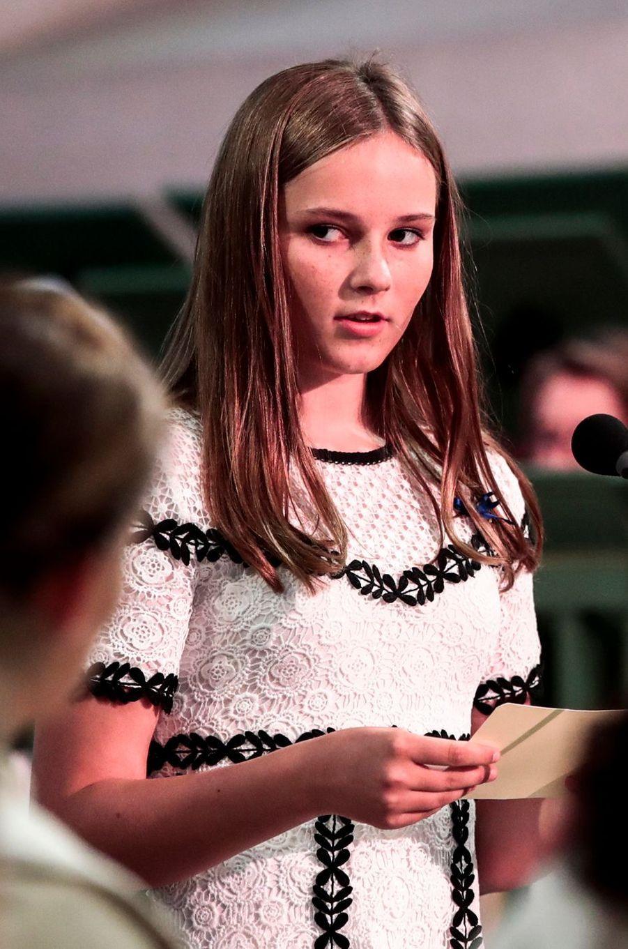 La princesse Ingrid Alexandra de Norvège à Oslo, le 29 août 2018