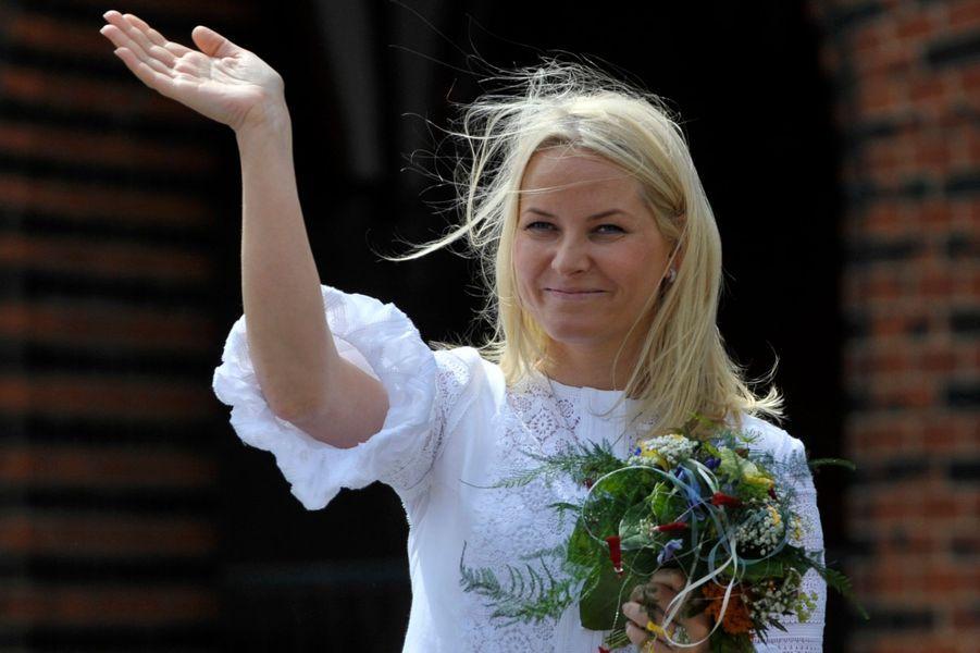 La princesse Mette-Marit de Norvège, le 12 juin 2010