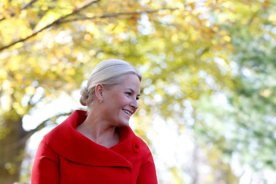 La princesse Mette-Marit de Norvège, le 7 novembre 2016
