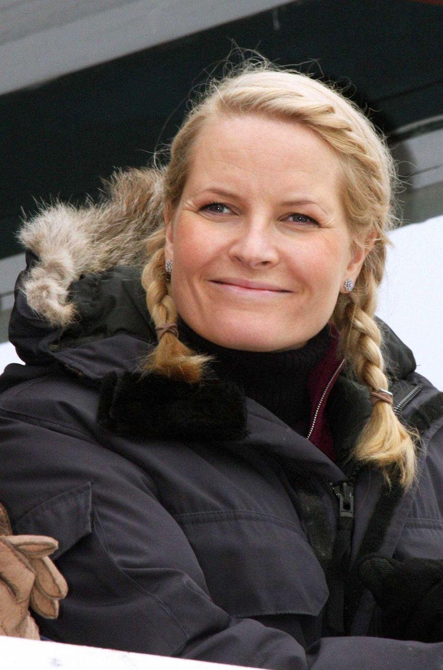 La princesse Mette-Marit de Norvège, le 9 mars 2008