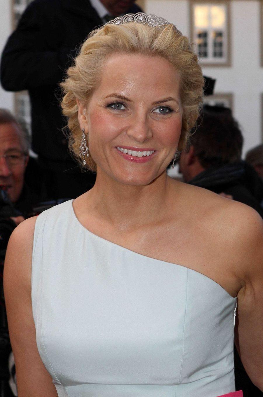 La princesse Mette-Marit de Norvège, le 16 avril 2010
