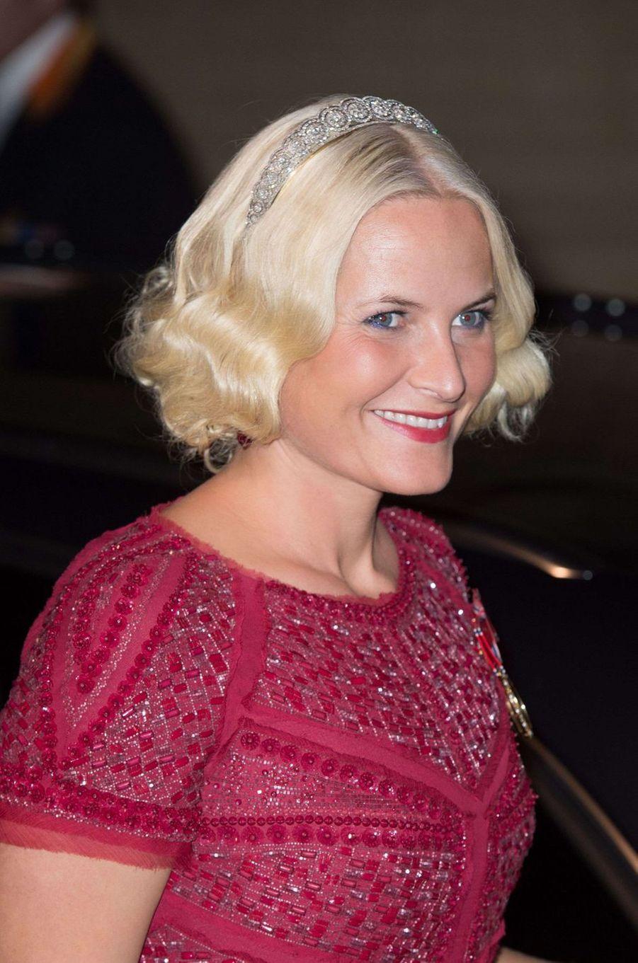 La princesse Mette-Marit de Norvège, le 19 octobre 2012