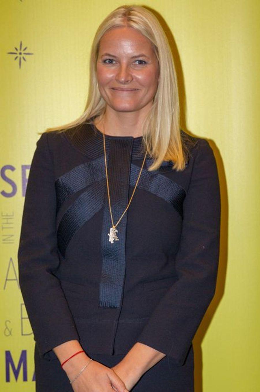 La princesse Mette-Marit de Norvège à Oslo, le 3 novembre 2015