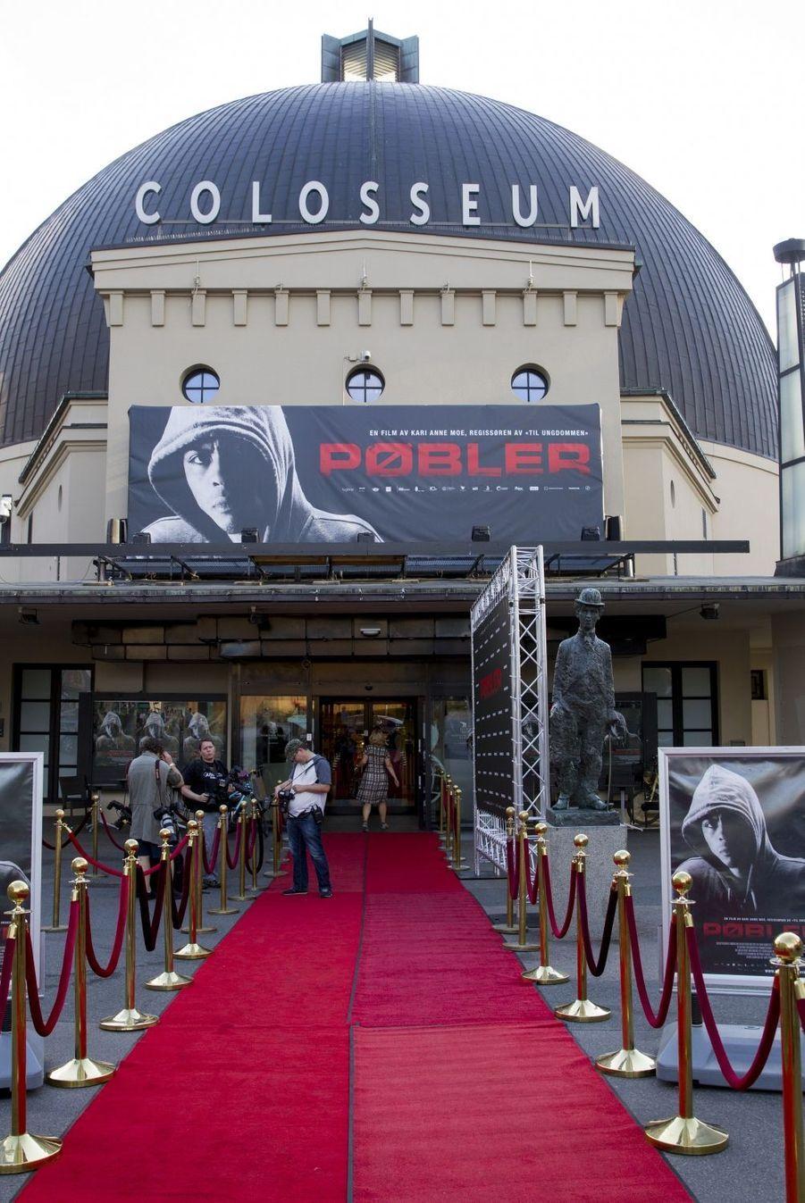 Le Colosseum Kino à Oslo, le 20 août 2015
