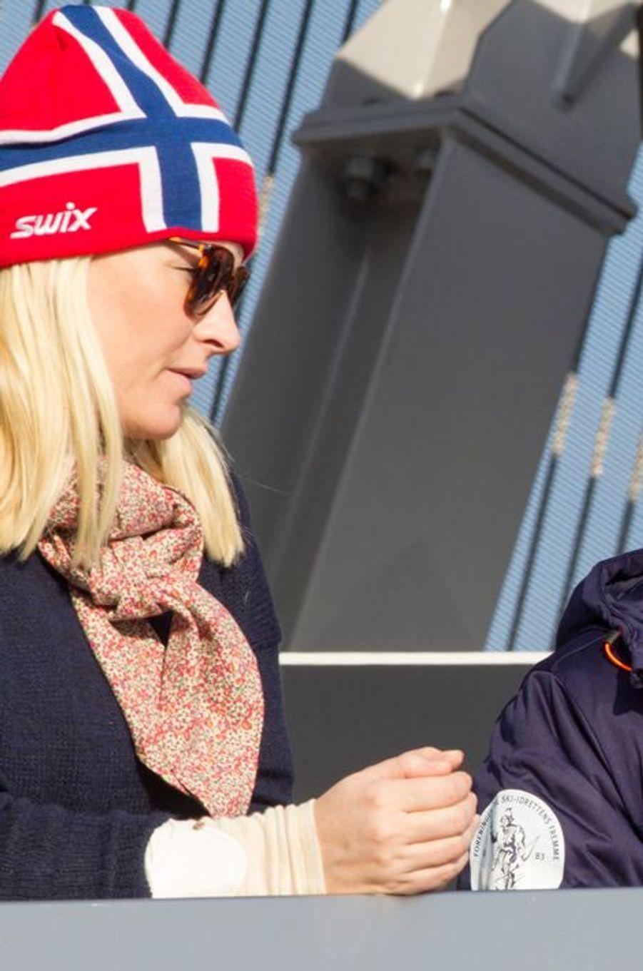 La princesse Mette-Marit de Norvège à Oslo, le 15 mars 2015