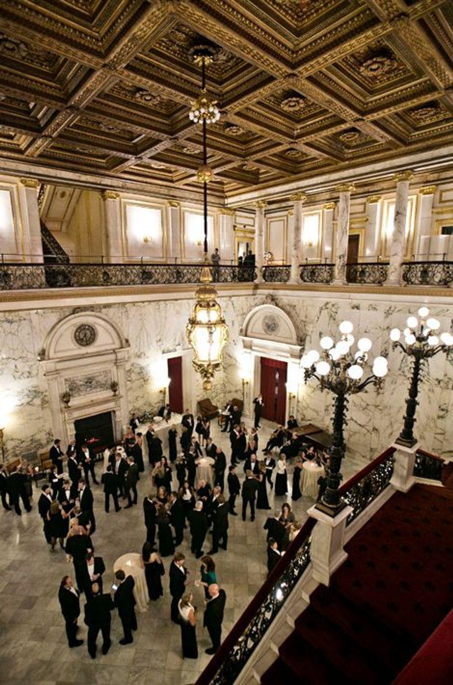 Réception pour les 100 ans de la Chambre de commerce américano-norvégienne à New York, le 7 octobre 2015