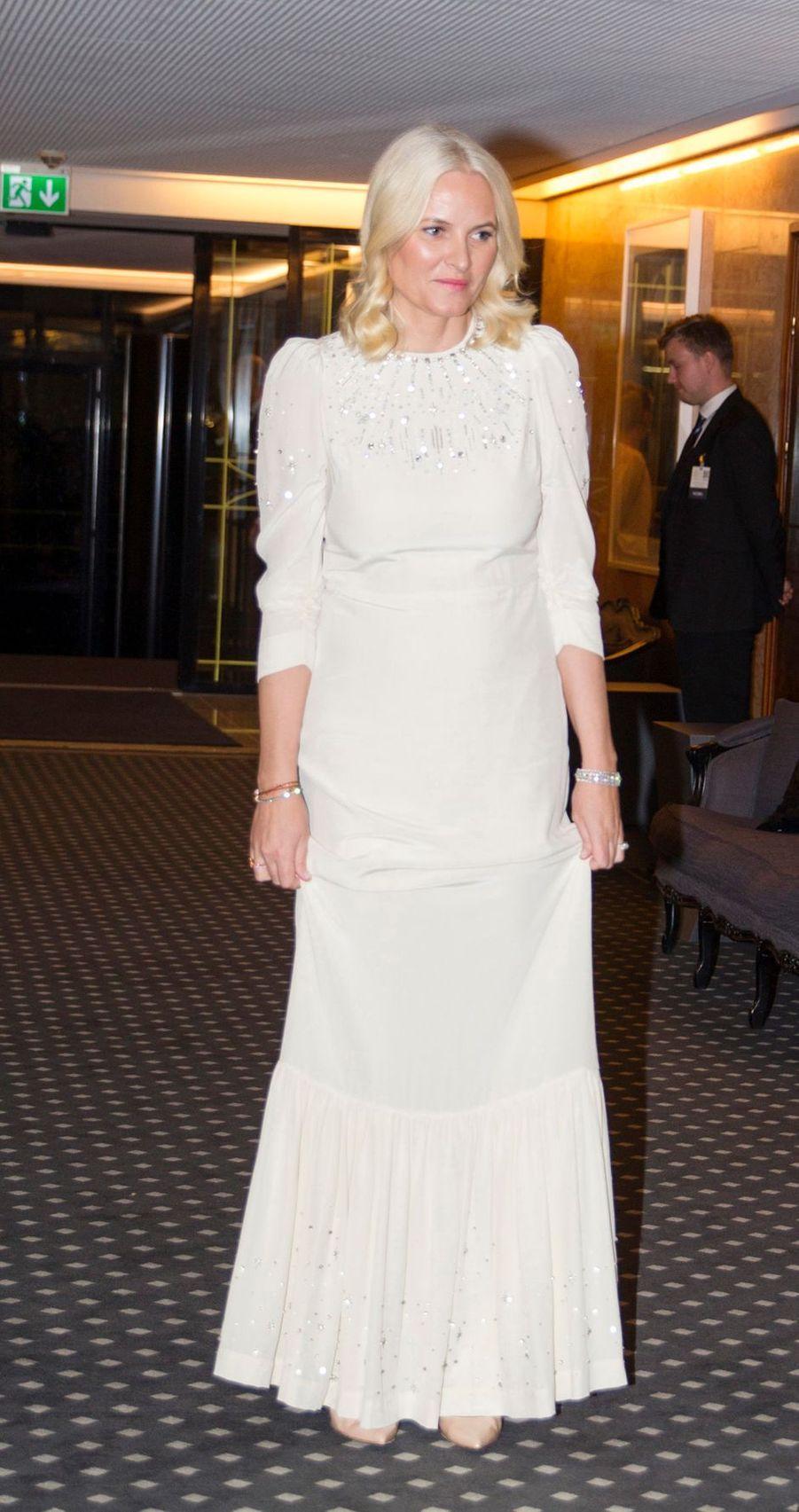 La princesse Mette-Marit de Norvège à Oslo, le 10 décembre 2019