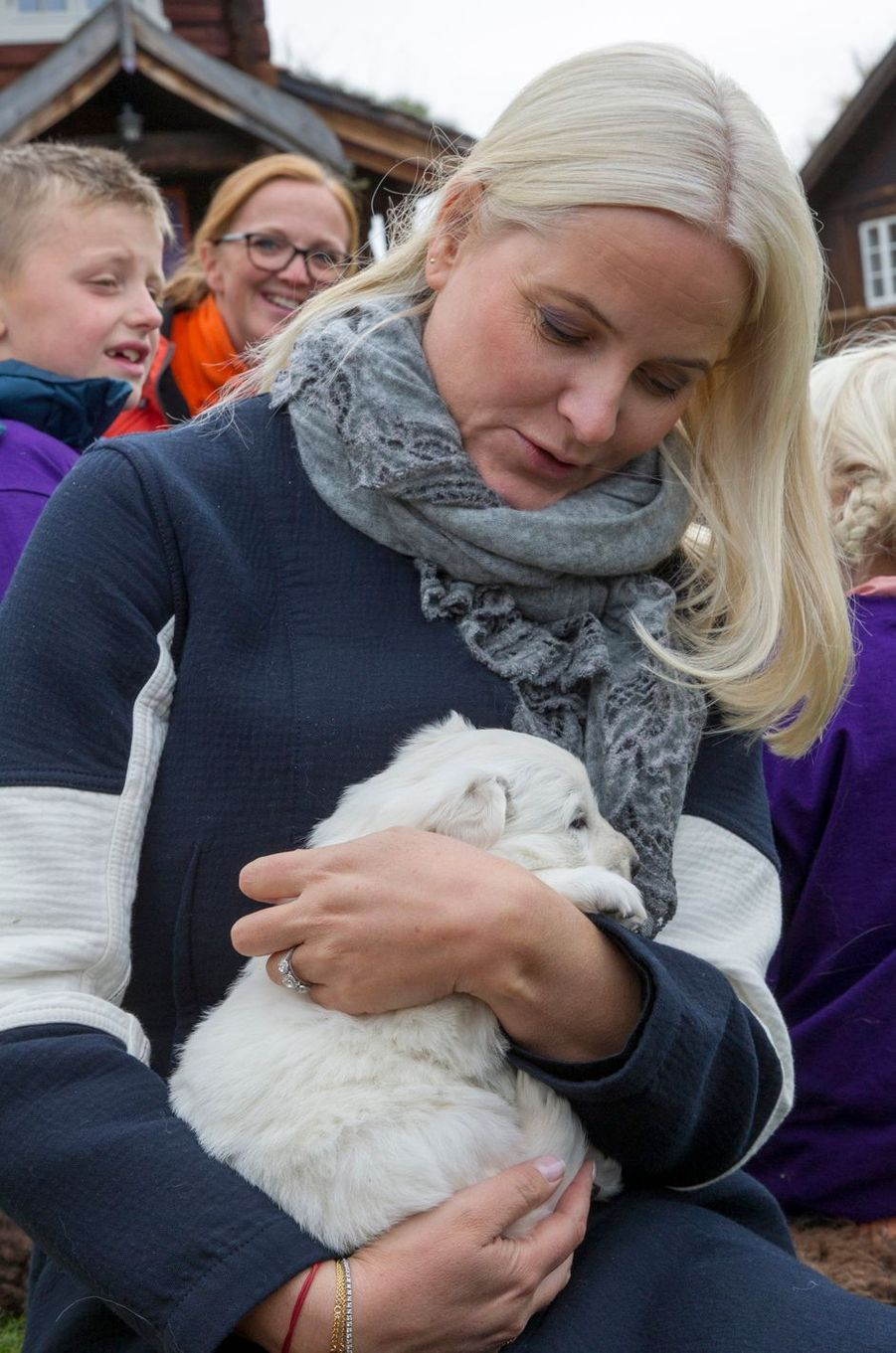 La princesse Mette-Marit de Norvège à Sel, le 19 septembre 2019
