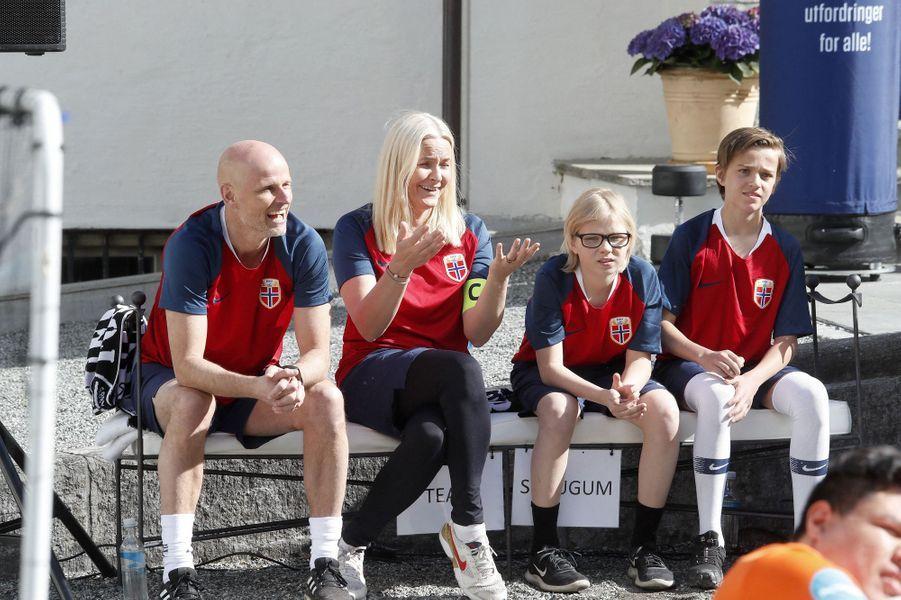 La princesse Mette-Marit de Norvège à Asker, le 29 mai 2019