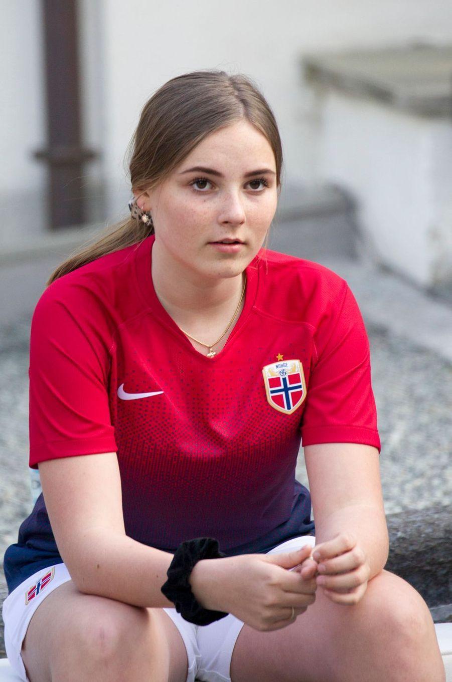 La princesse Ingrid Alexandra de Norvège à Asker, le 29 mai 2019