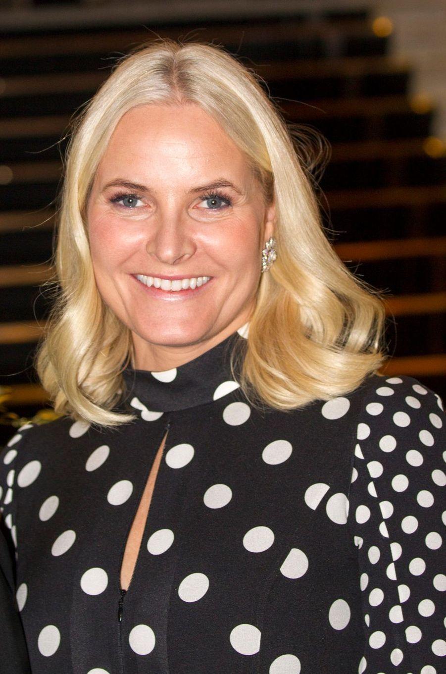 La princesse Mette-Marit de Norvège à Oslo, le 10 décembre 2018