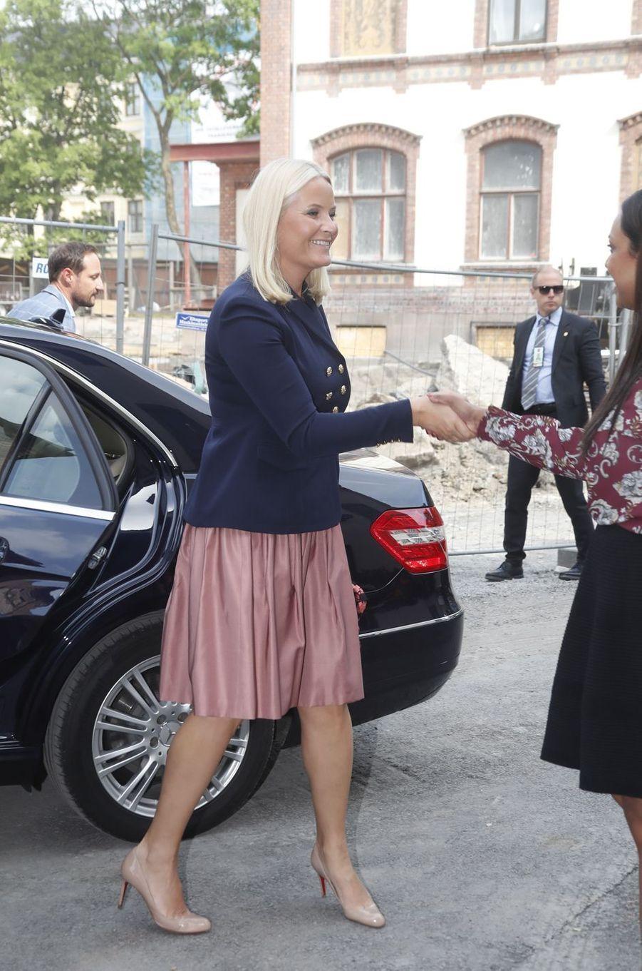 La princesse Mette-Marit de Norvège à Oslo, le 29 mai 2017
