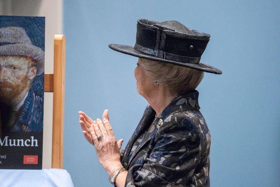 La princesse Beatrix des Pays-Bas à Oslo, le 9 mai 2015