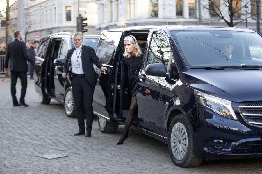 La princesse Mette Marit de Norvège, à Oslo le 3 janvier 2019