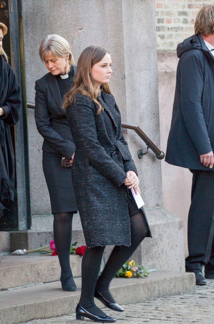 La princesse Ingrid Alexandra de Norvège, à Oslo le 3 janvier 2019